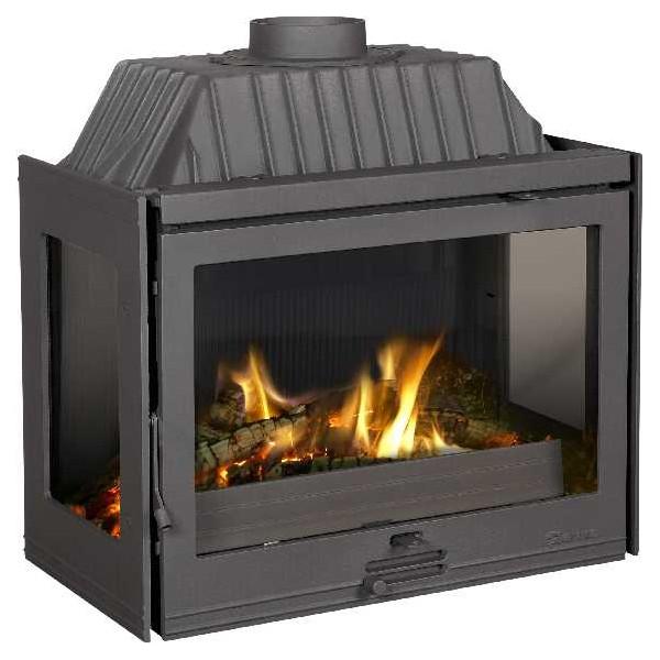 foyer ferme dovre 2100 insert bois po les et chemin es. Black Bedroom Furniture Sets. Home Design Ideas